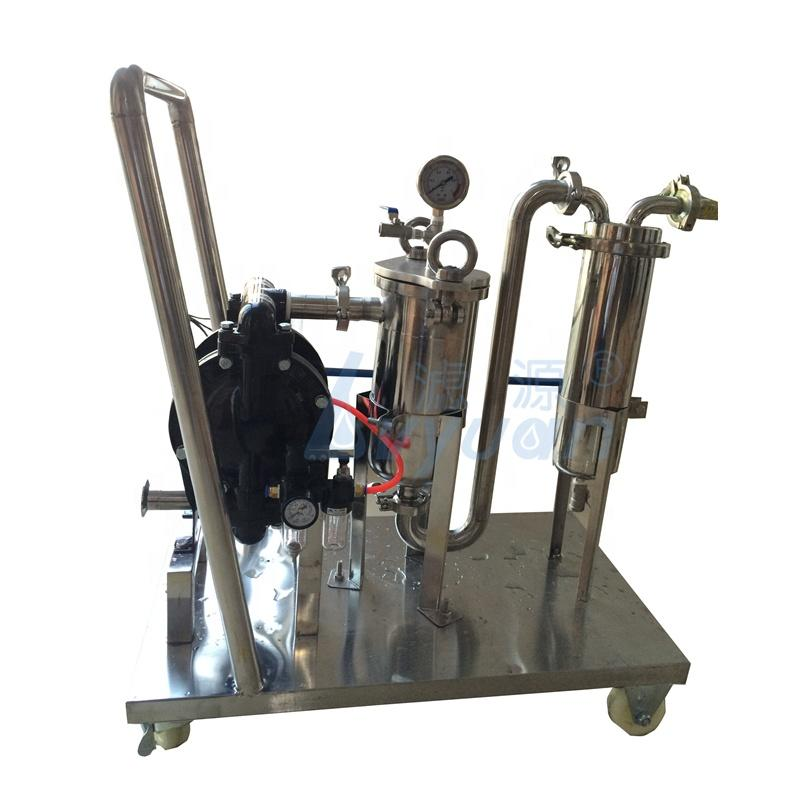 Stainless steel water Liquid bag Filter Machine for oil wine beer honey