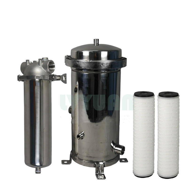 10 Inch Stainless Steel Metal Water Filter Housing