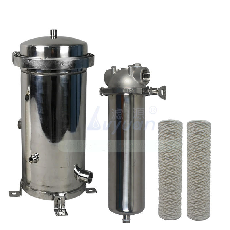 porous stainless water filter housing rod for sea water desalination