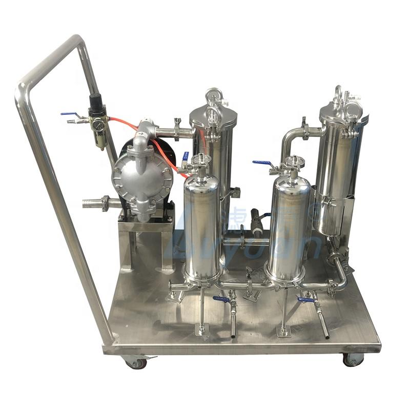 Stainless Water Filter System For Liquid Oil Filtration