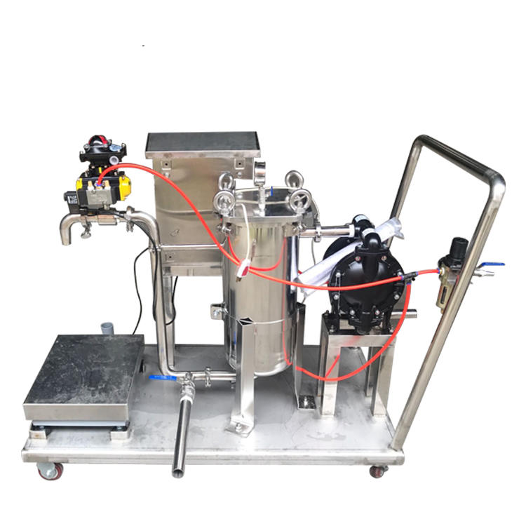 Oil filter machine stainless filter equipment