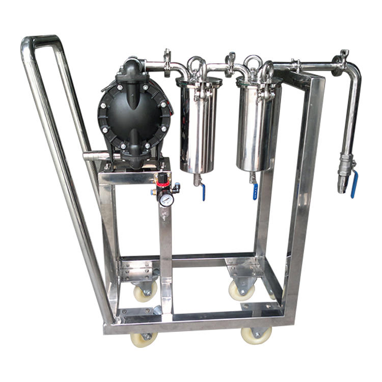 Honey bag Filter Machine