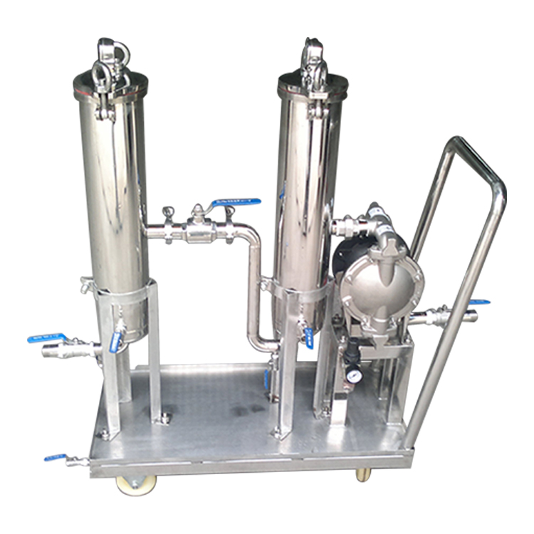 porous stainless filter housing manufacturer for sea water desalination-1