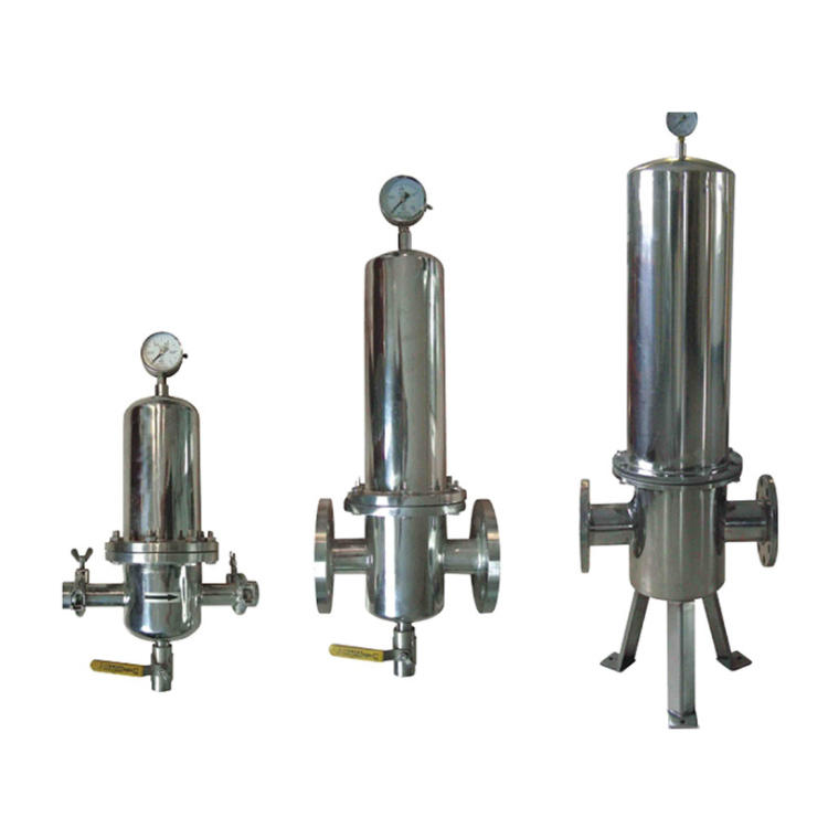 Lvyuan titanium stainless steel filter housing with core for sea water desalination
