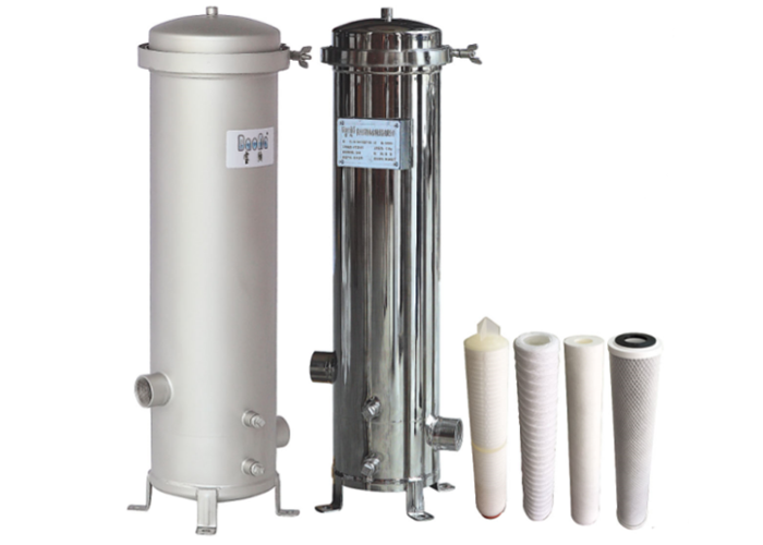 Stainless stee ssl 304 316 cartridge filter housing water filter