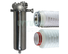 efficient stainless filter housing with fin end cap for oil fuel