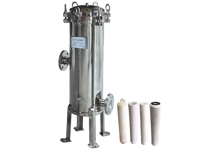 efficient stainless steel cartridge filter housing manufacturer for food and beverage-1
