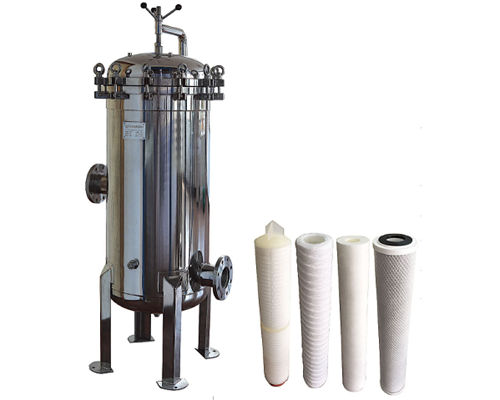 PP PE BAG 20 Microns 235psi Multi Cartridge Filter Housing