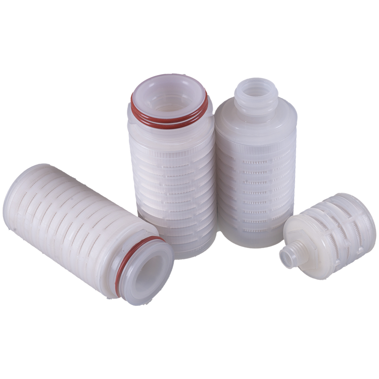 membrane pleated water filters replacement for organic solvents