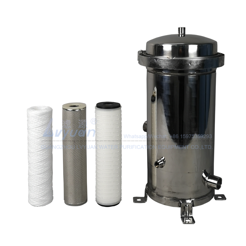 Lvyuan ss cartridge filter housing housing for food and beverage-2