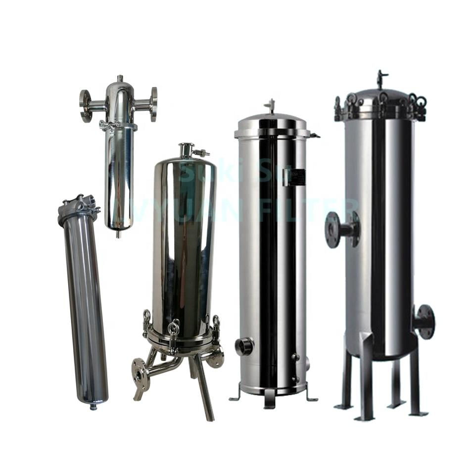 professional ss bag filter housing with core for industry