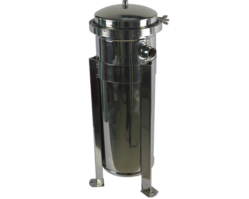 efficient stainless steel cartridge filter housing with fin end cap for sea water desalination-2