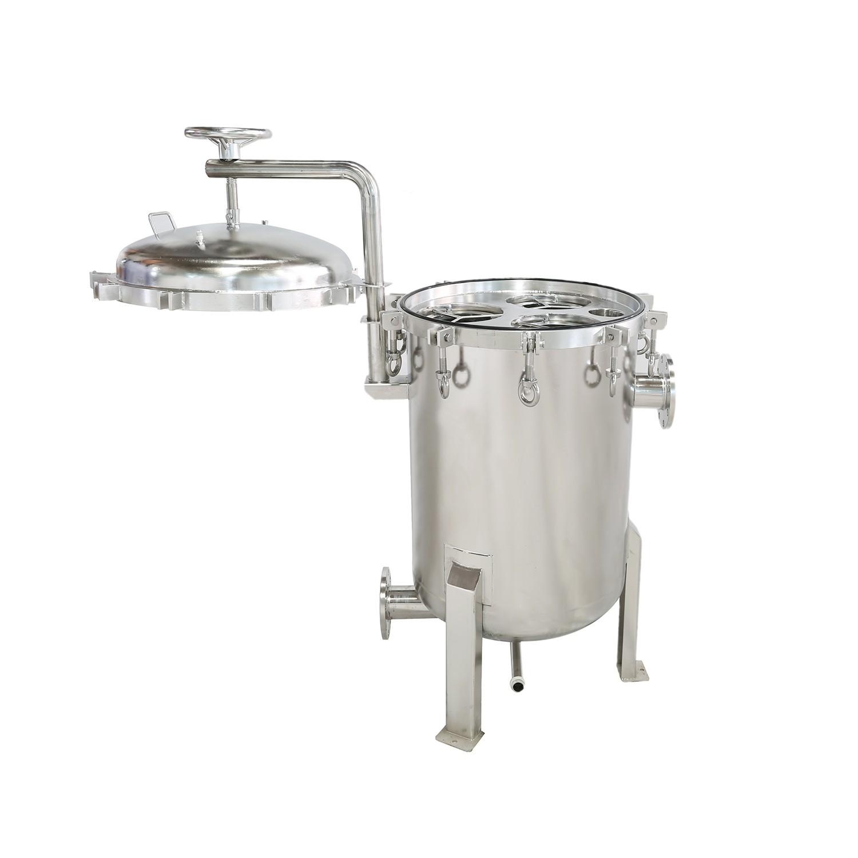 Lvyuan professional stainless steel cartridge filter housing housing for sea water desalination-1