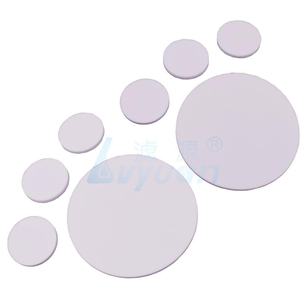 Beverage Gas 0.5um 2um Synthetic Glass Porous Filter Disc