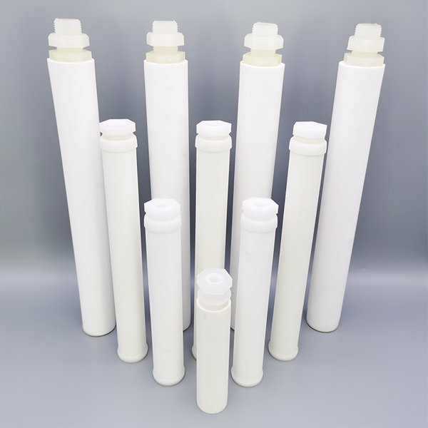 60'' Sintered Microporous PTFE Tubing 30Mpa Polyethylene Filters