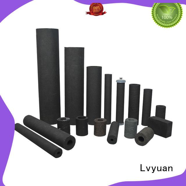 Lvyuan sintered stainless steel filter manufacturer for sea water desalination