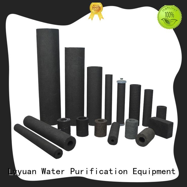 Lvyuan porous sintered plastic filter manufacturer for food and beverage