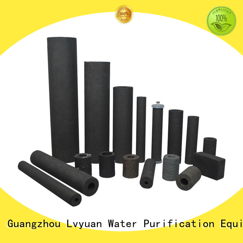 Lvyuan porous sintered filter suppliers for sea water desalination