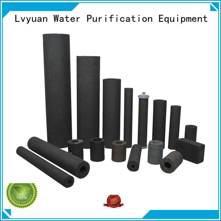 Lvyuan filters ss sintered filter cartridge cartridge liquid