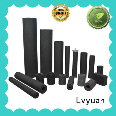activated carbon sintered filter cartridge manufacturer for industry