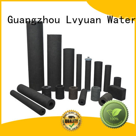 Lvyuan professional sintered plastic filter supplier for sea water desalination