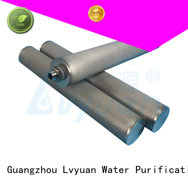 professional sintered filter suppliers rod for food and beverage