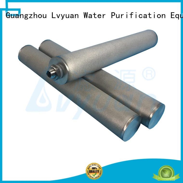 Lvyuan sintered metal filter manufacturer for food and beverage