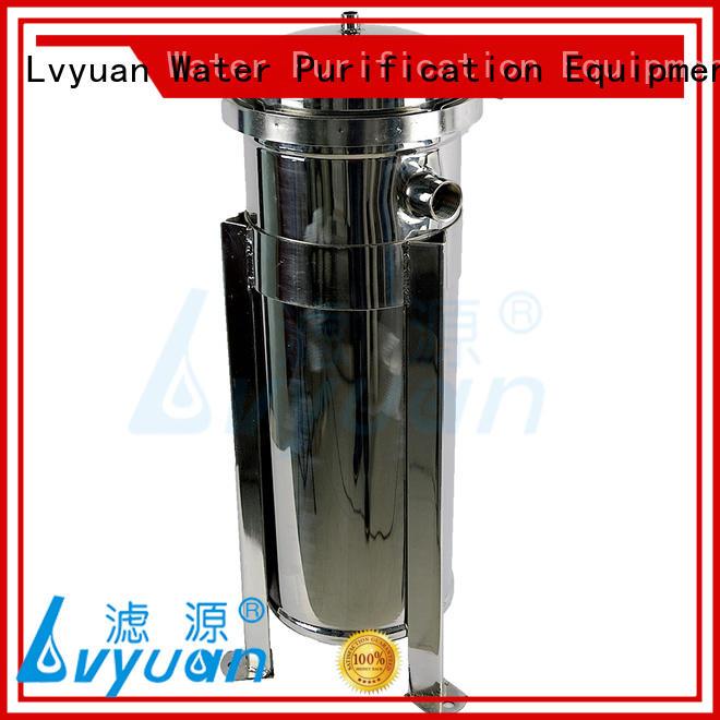 titanium 20 inch water filter housing manufacturer for sea water desalination Lvyuan