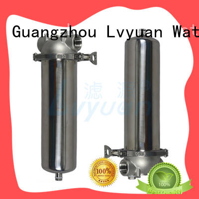 Lvyuan stainless steel filter housing manufacturers with fin end cap for sea water desalination
