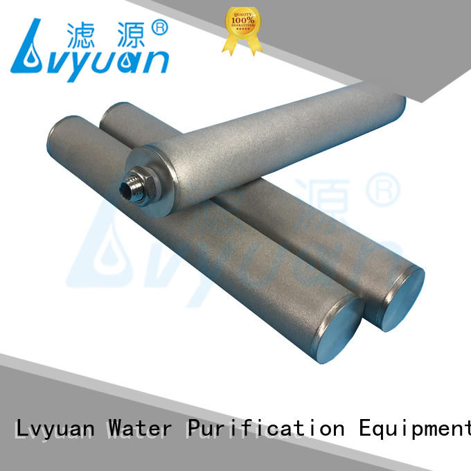 Lvyuan sintered metal filter rod for sea water desalination