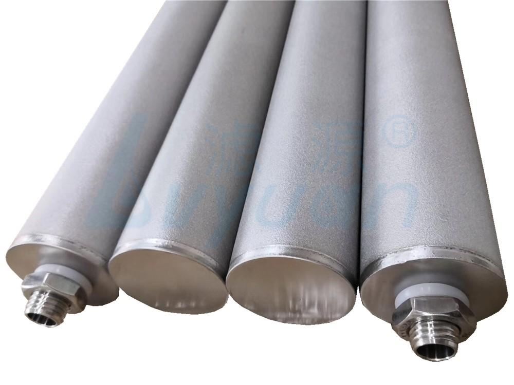 sintered metal filter elements manufacturer for sea water desalination Lvyuan