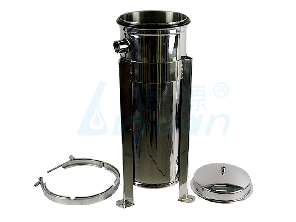 titanium stainless steel bag filter housing housing for sea water treatment