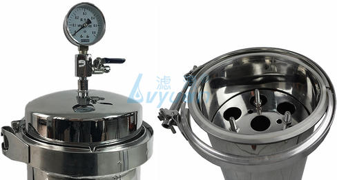 Do you know how to install the stainless steel cartridge filter housing?