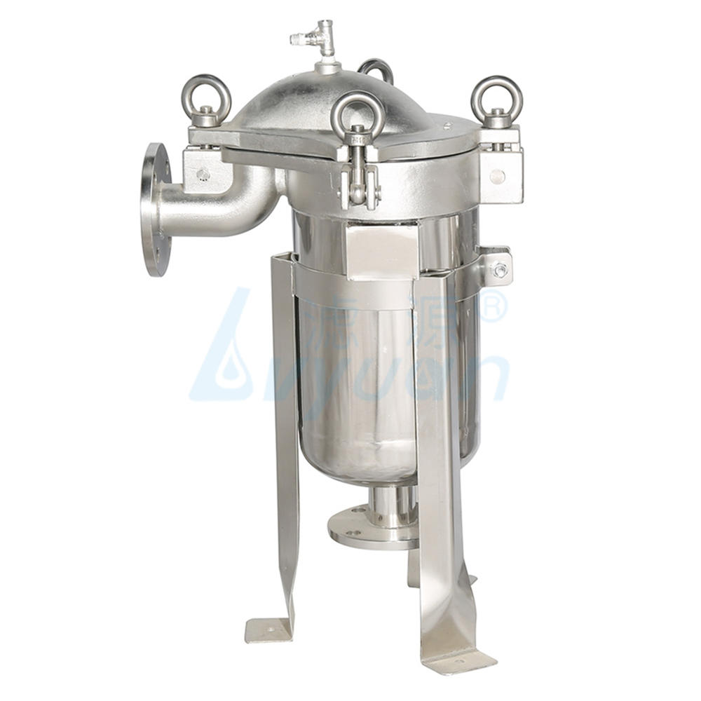 Top-into type hige pressure ss bag filter housing for beverage filtration