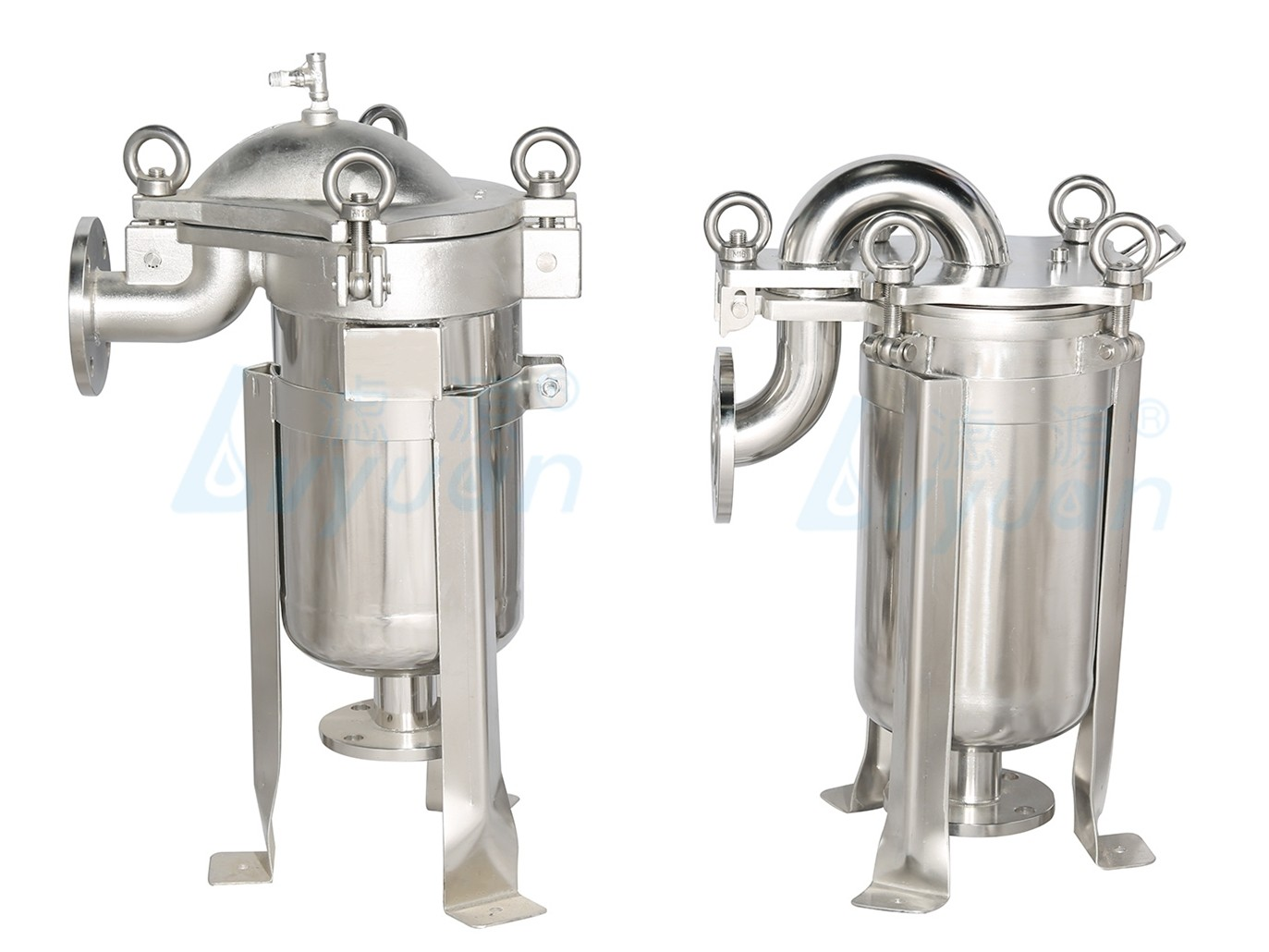 Lvyuan professional stainless steel filter housing with core for food and beverage-2