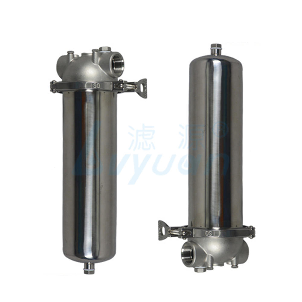 5 10 20 30 40 inch single cartridge stainless steel water filter housing