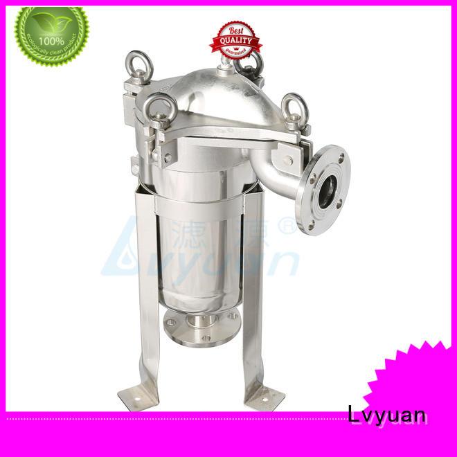 Lvyuan ss bag filter housing rod for sea water desalination