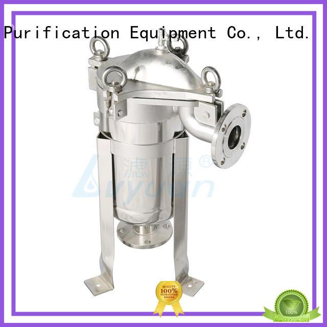 Lvyuan efficient ss bag filter housing rod for sea water desalination
