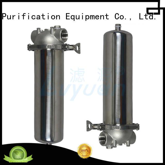 Lvyuan ss filter housing manufacturer for sea water desalination