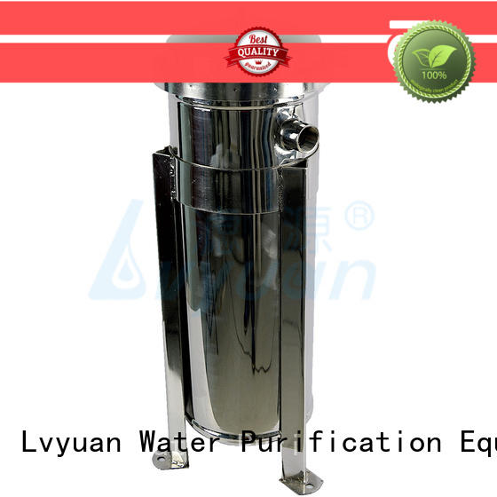 Lvyuan stainless steel bag filter housing housing for industry