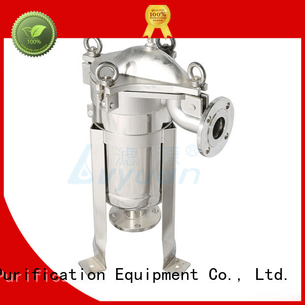 professional stainless water filter housing with core for sea water desalination