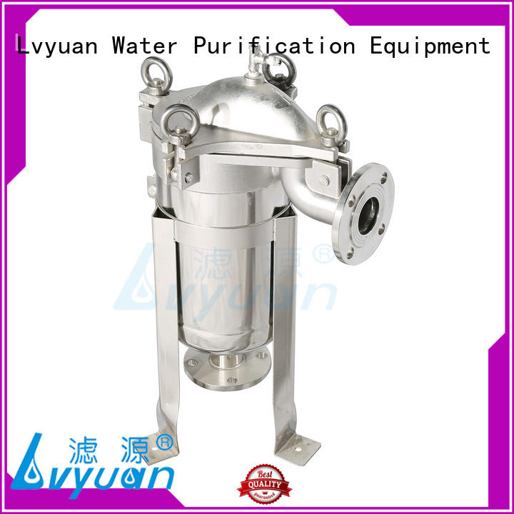 Lvyuan ss filter housing manufacturers rod for sea water treatment