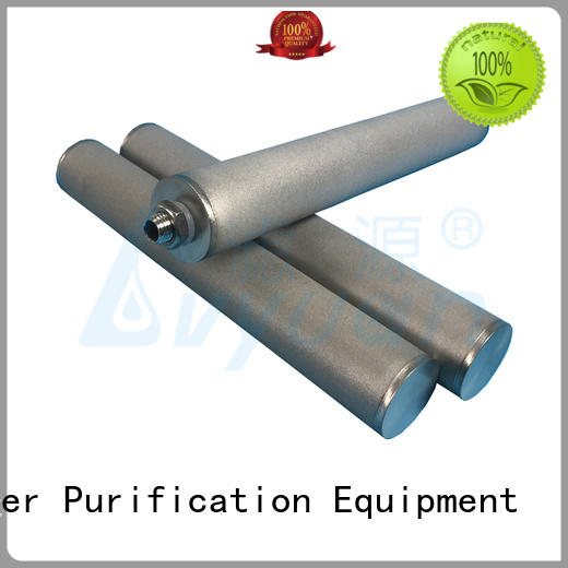 professional sintered filter cartridge rod for sea water desalination