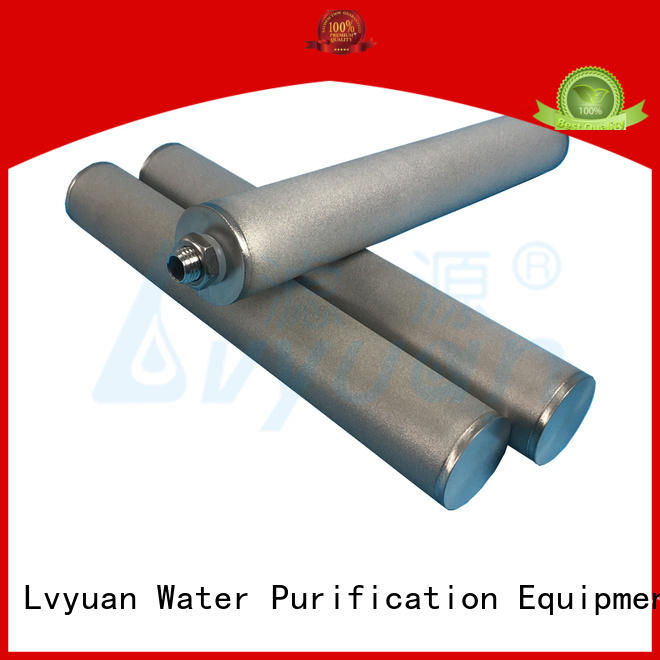 professional sintered plastic filter rod for sea water desalination