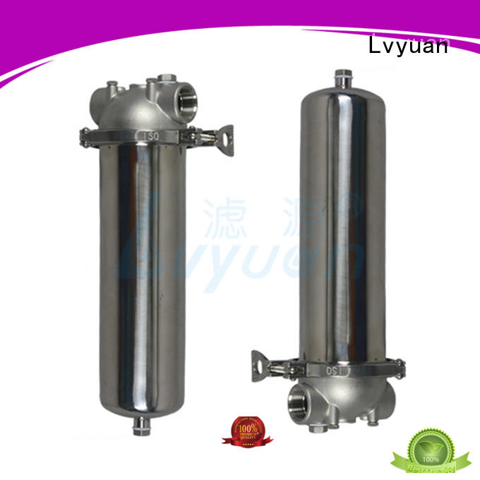 Lvyuan stainless steel filter housing manufacturers with core for oil fuel