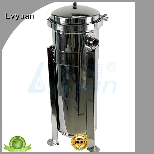 professional stainless steel water filter housing rod for industry