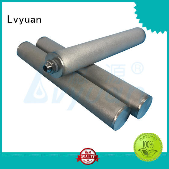 Lvyuan sintered ss filter manufacturer for industry