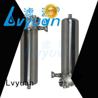 Lvyuan stainless steel bag filter housing manufacturer for sea water desalination