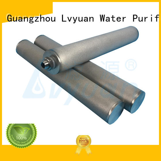 Lvyuan sintered powder ss filter manufacturer for industry