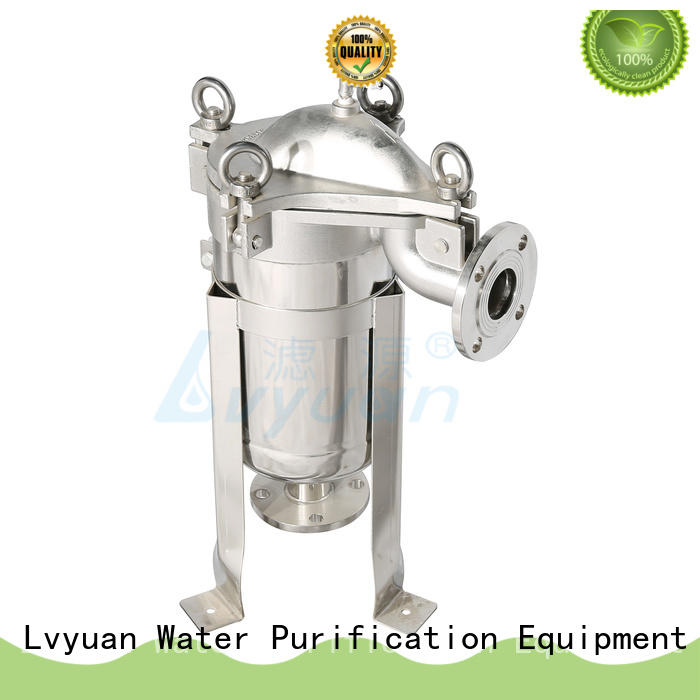 Lvyuan best stainless steel water filter housing with core for food and beverage